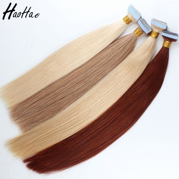 Wholesale double drawn brazilian human virgin remy cuticle tape hair extension