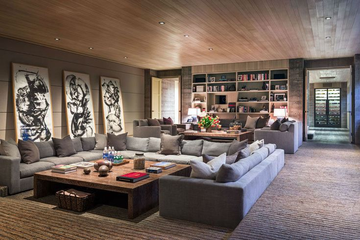 282 best images about living room inspiration on pinterest ux ui designer chairs and beams - Best home theater design inspiration ...