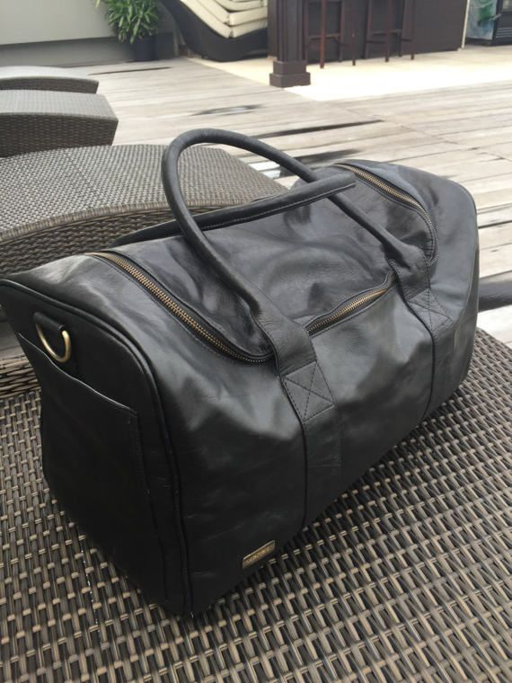 The MOONLIGHT Leather Traveller / Overnight Leather Bag / Luggage