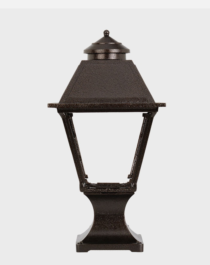Outdoor gas lamps lighting by american gas lamp works