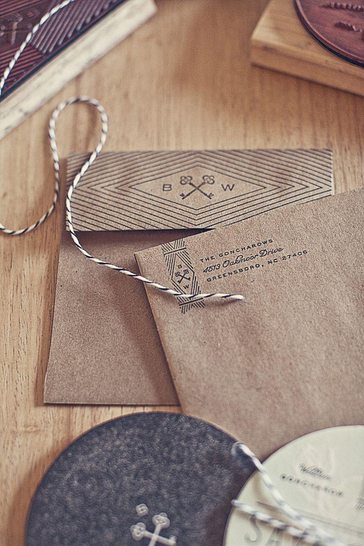 kraft & pattern: Crafts Paper, Kraft Paper, Brown Paper, Fashion Style, Paper Bags, Wedding Invitations, Invitations Design, Paper Design, Goncharow Coasters
