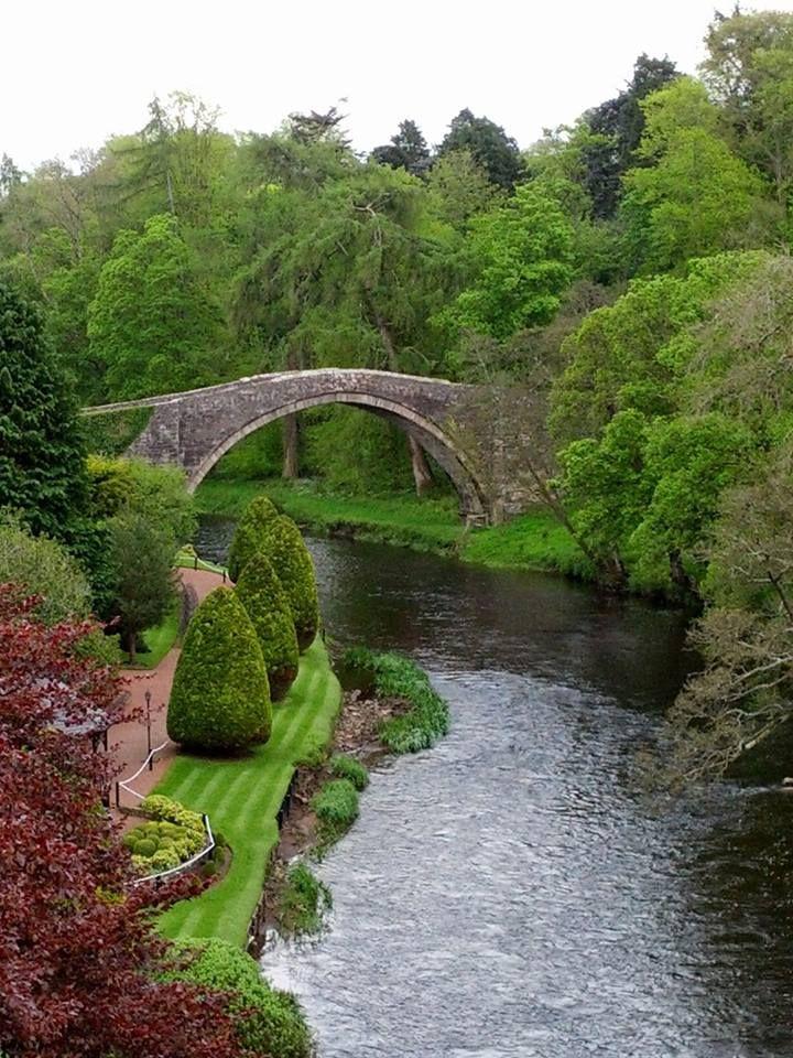 Brig O' Doon, Ayrshire, Scotland.