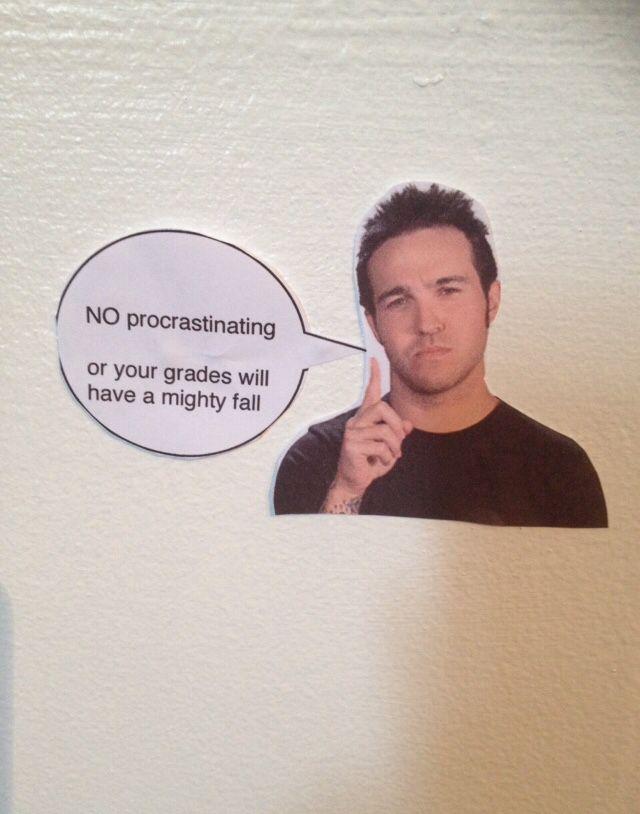 I think I just found the solution to my procrastination problem.