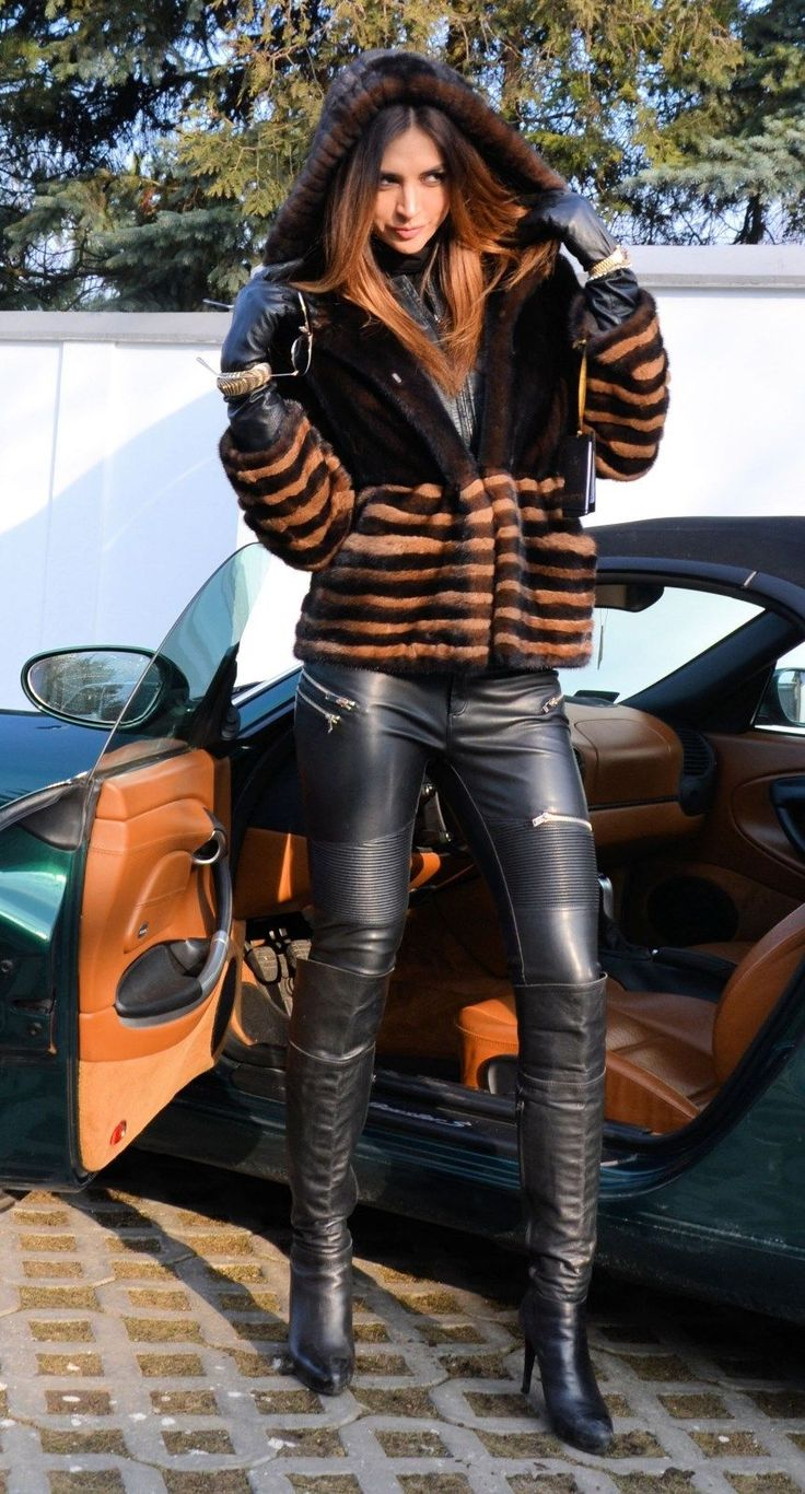 Perfect Leather Outfit !!! | Woman and Leather --> So Hot ...