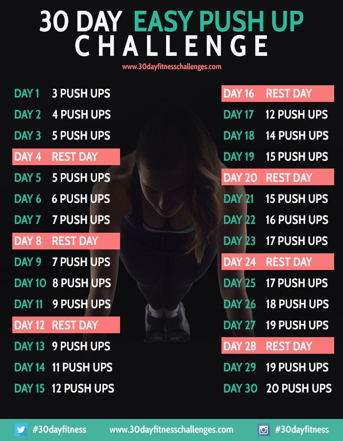 9 30 day fitness challenges