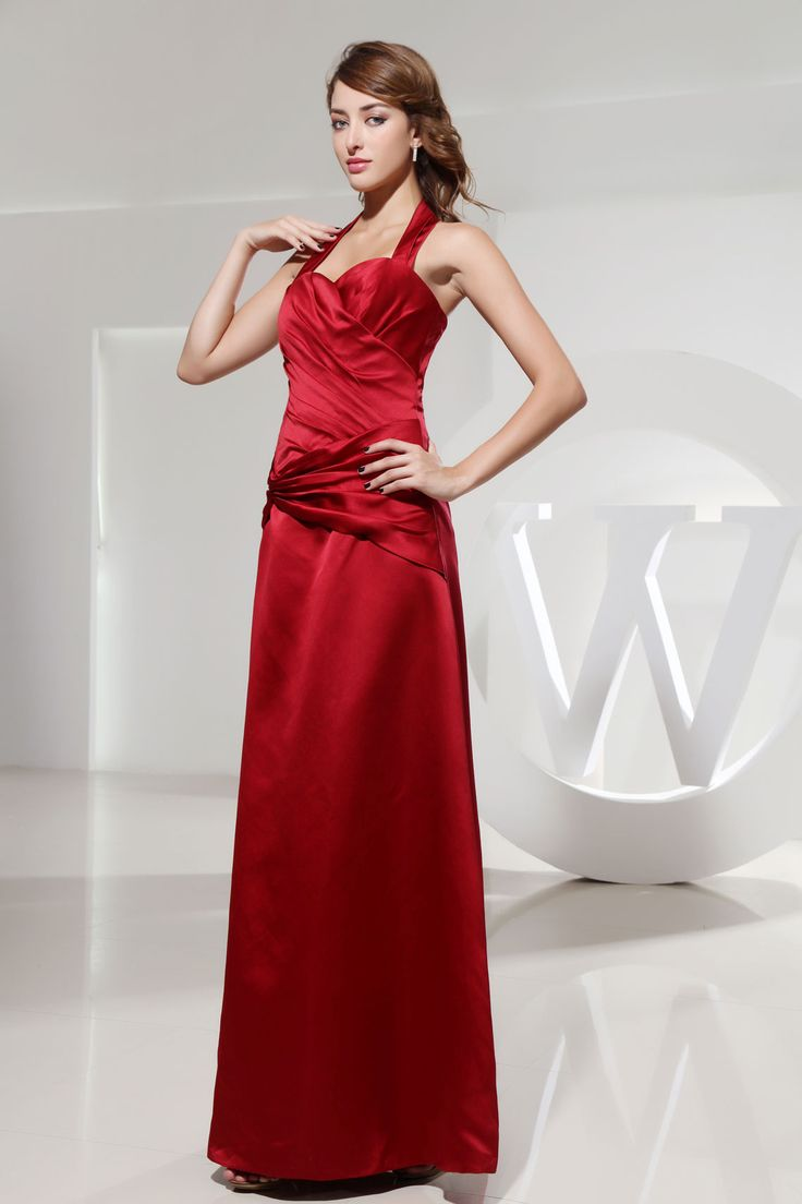 96 best top 50 ruby red bridesmaid dresses images on pinterest ruby red bridesmaid dresses halter ombrellifo Images