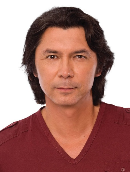 "Lou Diamond Phillips - a favourite actor that is on the small screen now in ""Longmire"" 2013 with the Australian actor Robert Taylor"