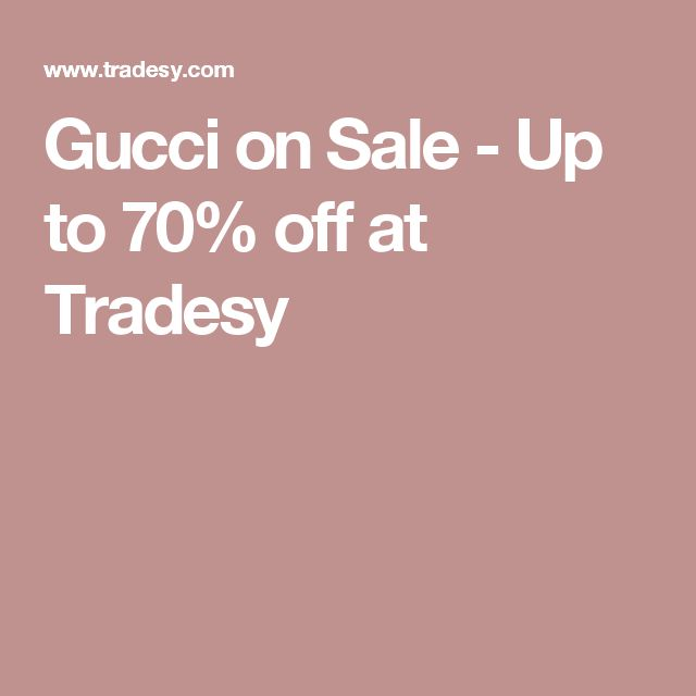 Gucci on Sale - Up to 70% off at Tradesy