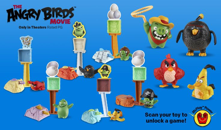 Happy Meal angry birds movie