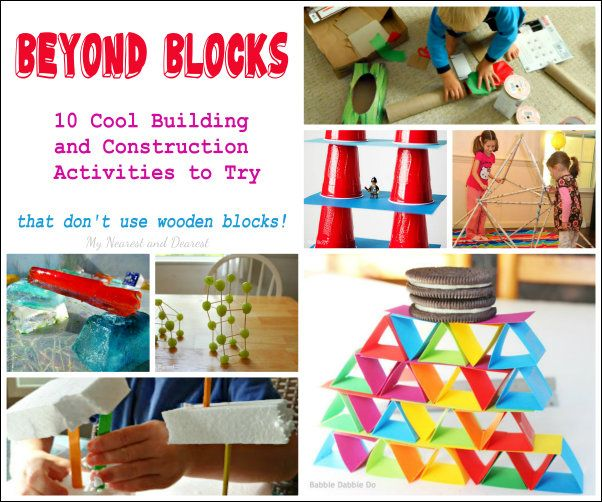 10 Building And Construction Activities To Try At Home Or