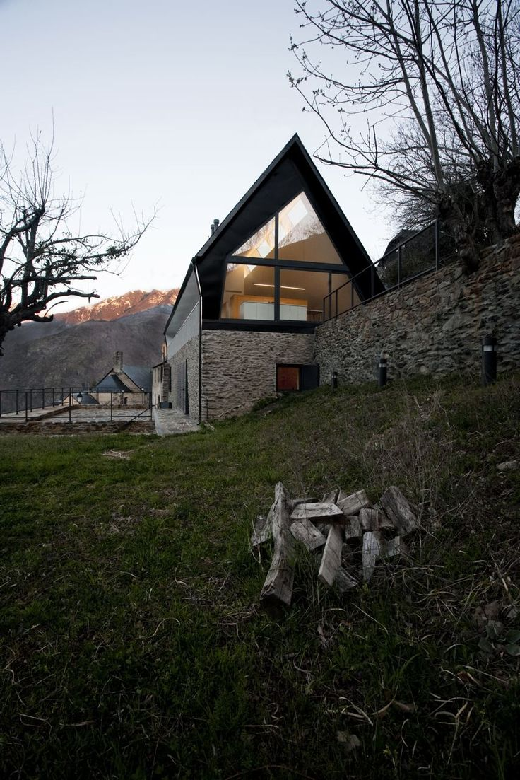 House at the Pyrenees by Cadaval & Solà-Morales