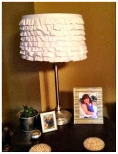 DIY Tutorial DIY Ruffle / DIY Ruffle Lamp Shade - Bead&Cord