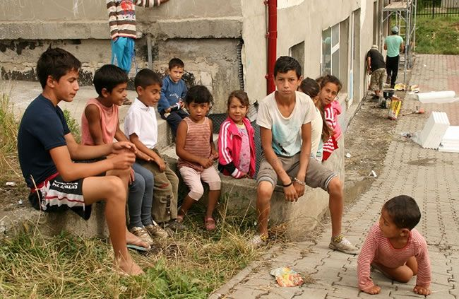 Armoede in Roemenië voor de kinderen