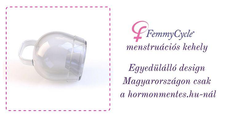 Femmycycle menstruációs kehely, intimtölcsér