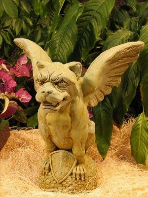 Argus Panoptes Gargoyle Garden Statuary  www.finegardenproducts.com