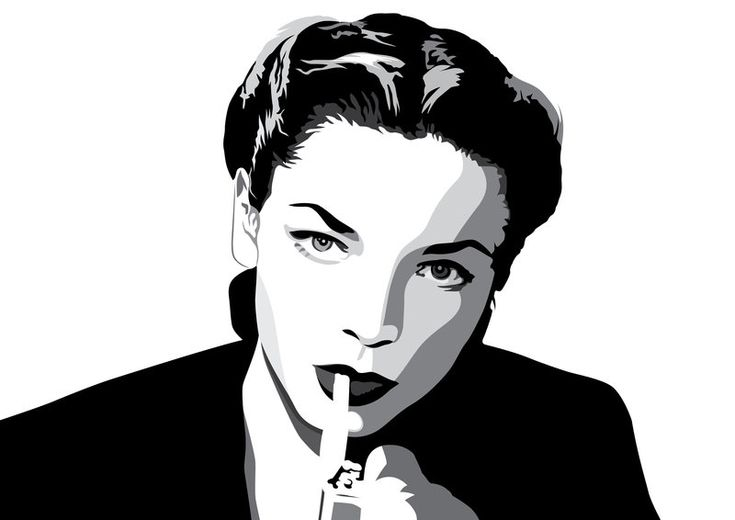Lauren Bacall by pin-n-needles.deviantart.com on @deviantART