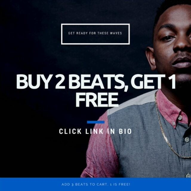 Great Deal on all my Beats! Get ready for these Waves.  . .  Click link in Bio and get your 3 Beats!