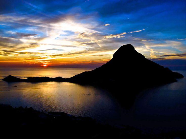 Sunset , Telendos #mysteriousgreece