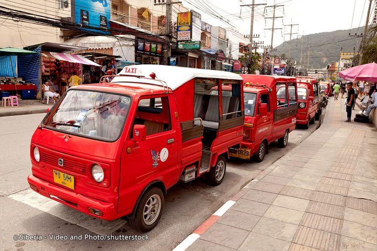 Taxis and Tuk Tuks in Phuket - How Taxis and Tuk Tuks work in Phuket