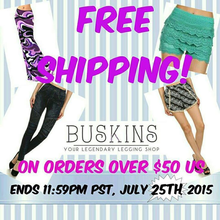 FREE SHIPPING ON ALL ORDERS OVER  $50USD. Today only!!!  check out our website: http://mybuskins.com/#moniquetoru  affiliate referred: Monique Toru