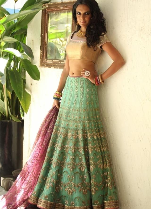 Bridal Lehenga 2012 Trends: Whats Hot & Whats Not ! - Brides by Peaches & Blush