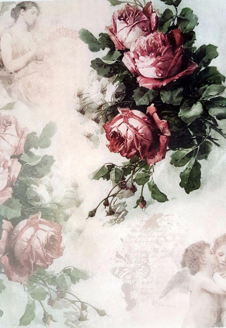 tolles die magie der bulgarischen rose inspiration bild und ebaddebddbbe rice paper vintage roses