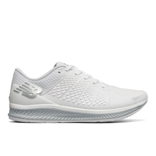 New Balance FuelCell Women's Speed Shoes - White/Grey (WFLCLWG)