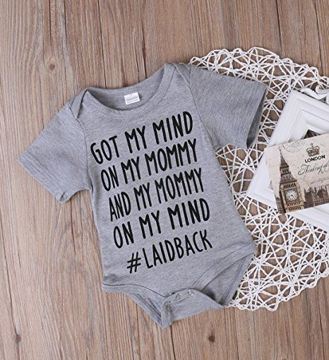 laid back song onesie | cheap baby clothes online | Amazon