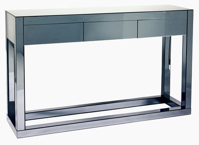 dwell - Reflect mirrored three drawer console table - £499