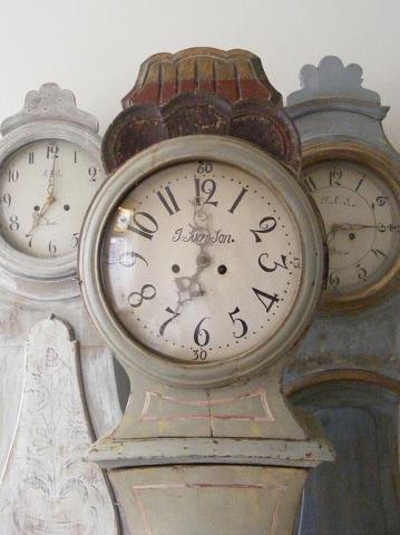 Old Mora Clocks - close up