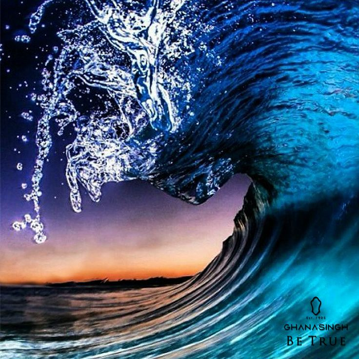 The blue waves have a gorgeous gift for you, Shine anew, #BeTrueToBlue