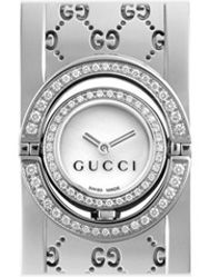 Amazon.com: GUCCI Women's YA116312 Signoria Collection Black Ion-Plated Stainless Steel Watch: Gucci: Watches