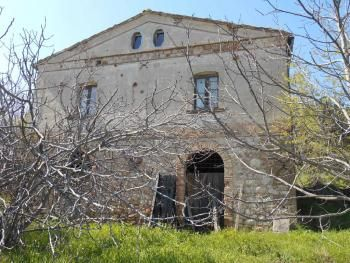 Rural Property for sale in Abruzzo, Molise, Le Marche in Italy: rural house, country house, villas, stone house, historic palace or coastal house.  Plus the cost of septic... but it comes with fig & olive & oak trees!
