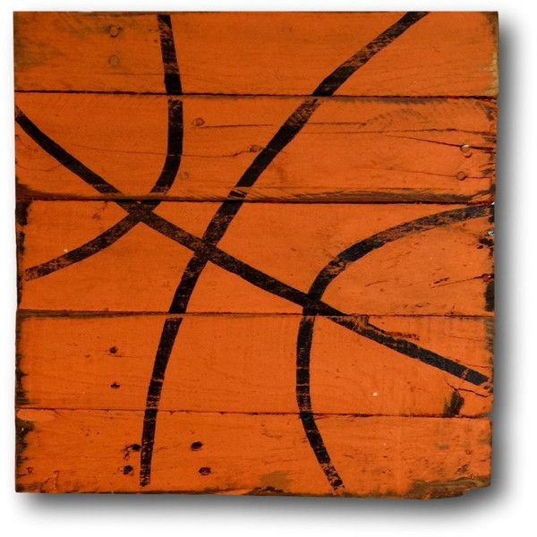 Basketball Wall Art Sports Decor Rustic Vintage Basketball Sign (70 CAD) ❤ liked on Polyvore featuring home, home decor, wall art, brown, home & living, home décor, wall décor, wall hangings, sport signs and sport wall art