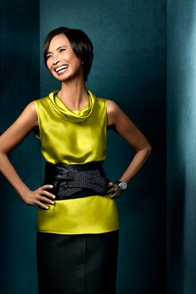 Josie Natori is  a self made millionaire, fashion/lingerie/sleepwear and home decor designer who is living the American dream. Her products are found in Bloomingdale's, Nordstrom, Macy's. Her most recent account is Target.