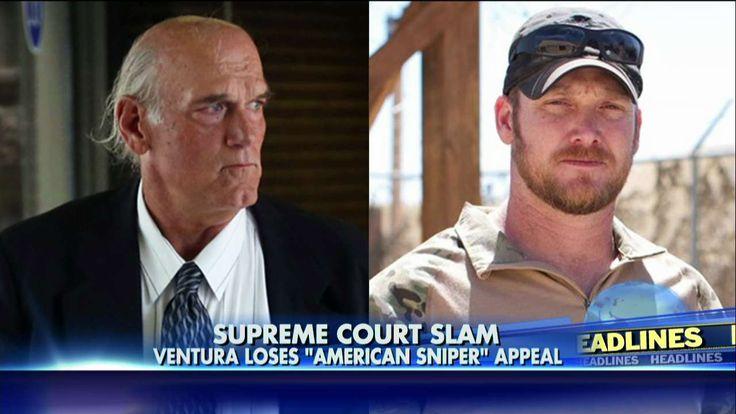 Jesse Ventura Loses Appeal to Reinstate $1.8M Verdict Against Chris Kyle Estate