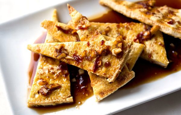 Spicy Tofu Marinade — Recipes for Health - NYTimes.com: Vegan, Marinades, Food, Recipes, Spicy Tofu, Healthy