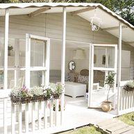 family location house bromley secret garden summerhouse orangery country style kitchen