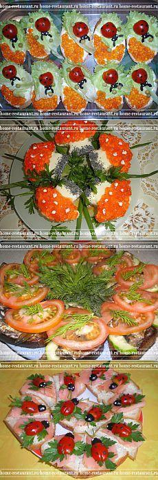 Праздничные бутерброды: рецепты с фото | Домашний Ресторан