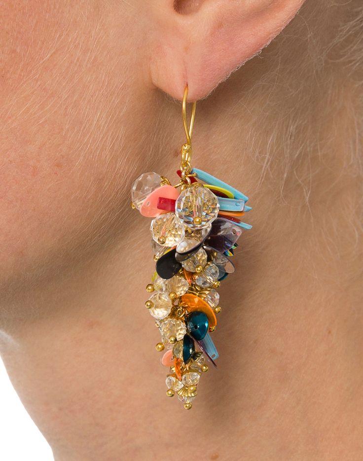 Crystal Midi Earrings | Megan Park | Halsbrook