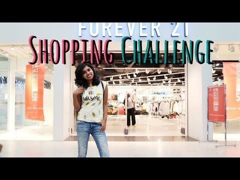 1000 Rs Forever 21 Store Shopping Challenge - Forever 21 Shopping Haul in today's video. Rs 1000 Forever 21 Store Shopping Challenge is all about the shopping at Forever 21 Store in a Mall for just Rs 1000. Shopping challenges are quite fun also are shopping hauls and I hope you enjoy this F21 haul video.