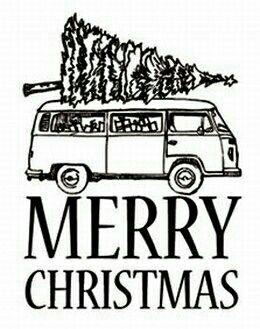 Merry Christmas !!! #christmas #noel #christmastime #combi #vw