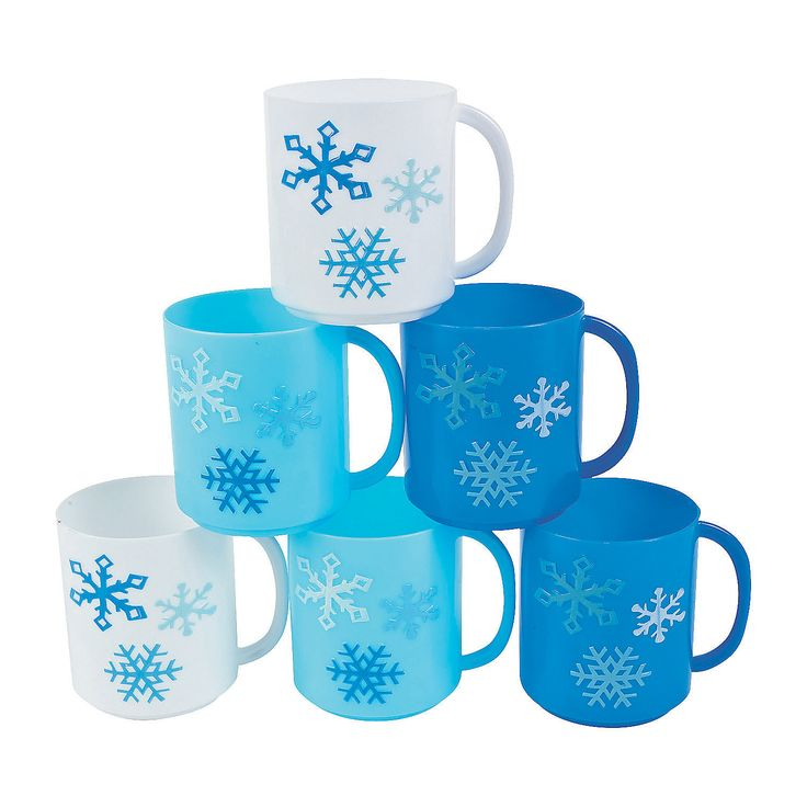 Winter+Plastic+Mugs+-+m.orientaltrading.com