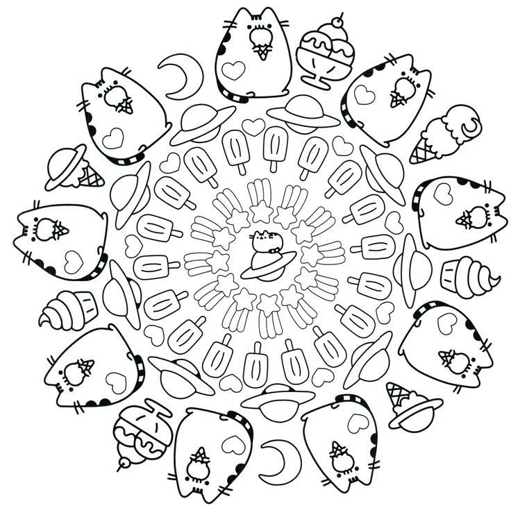 Pusheen Coloring Pages Pokemon Coloring Pages Cute Coloring