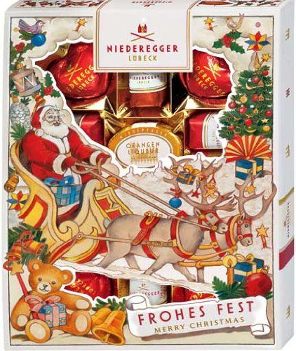 Niederegger Marzipanerie in a Christmas Sleeve - 182g/6.5 oz > Insider's special review you can't miss. Read more  : Gift Baskets