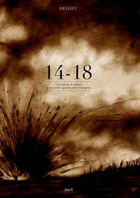 Livres Ouverts : 14-18. Une minute de silence à nos arrière-grands-pères courageux