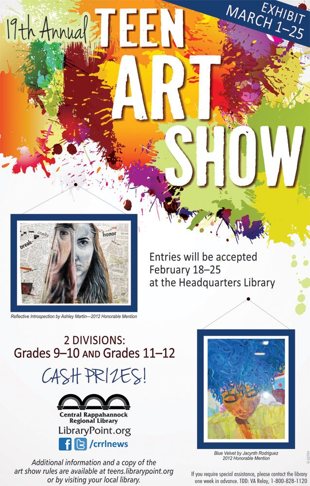 Annual Teen Art Show Librarypoint - Milf Nude Photo