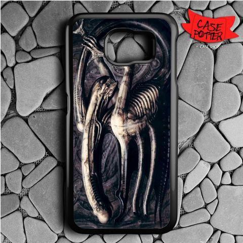 Hr Giger Alien Samsung Galaxy S7 Black Case