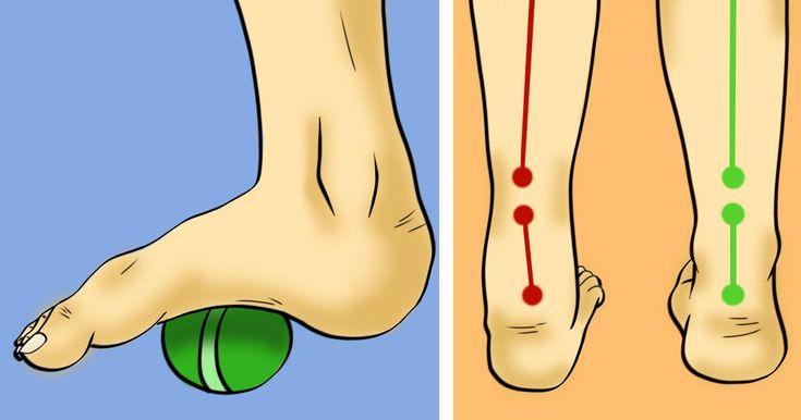 6 Übungen, die Fuß-, Knie- und Hüftschmerzen beseitigen