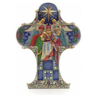 Jim Shore - Nativity Cross (Cruz Navidad)